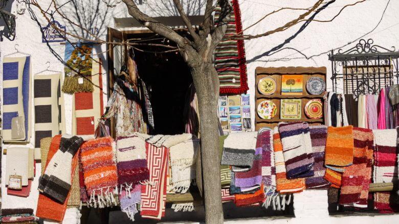 Typisches Kunsthandwerk in den Alpujarras