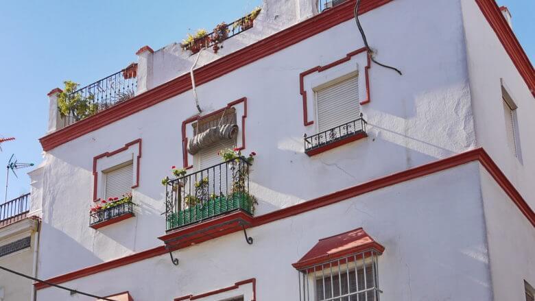 Traditionelles Haus in Triana (Sevilla)