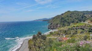 Die Mittelmeerküste der Costa Tropical in der Provinz Granada