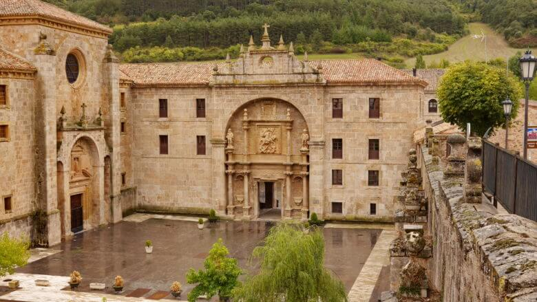 Das Kloster von Yuso in San Millán de la Cogolla