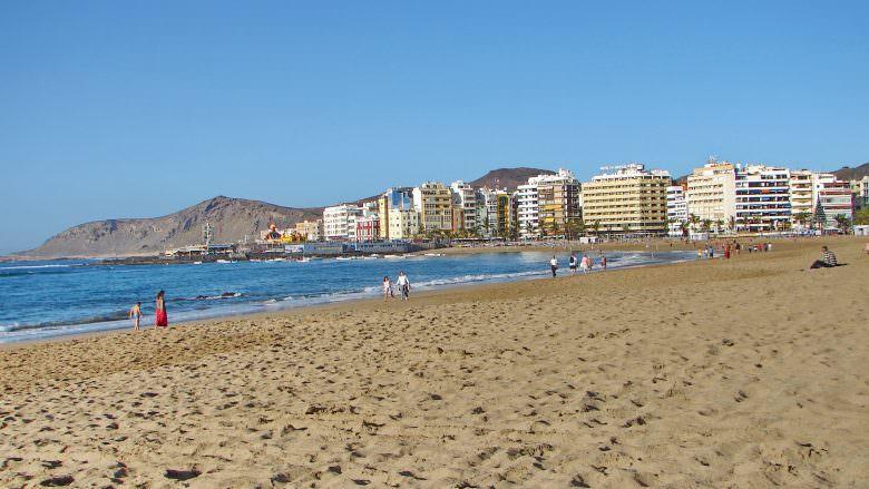 1. Weihnachtstag am Playa de las Canteras