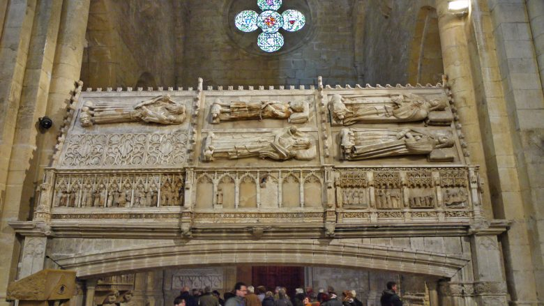 Gräber der Könige von Aragón im Kloster Poblet