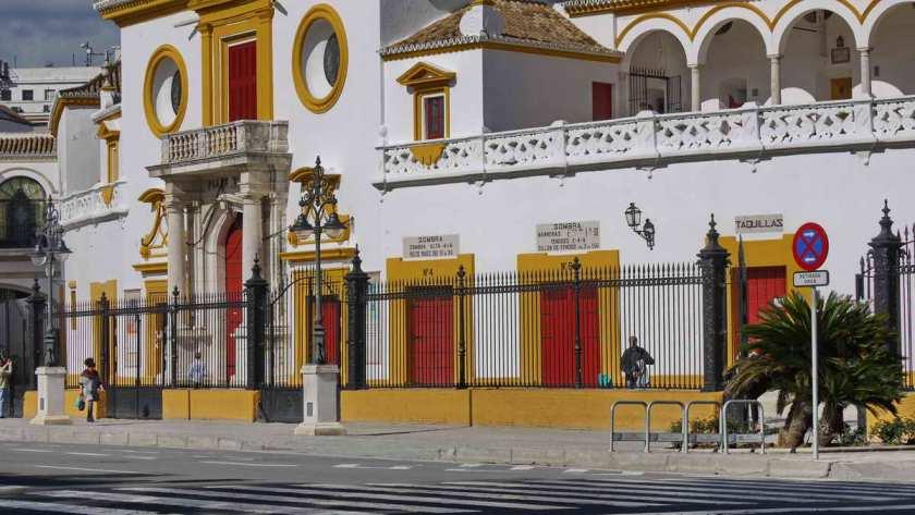 Kassen der Stierkampfarena von Sevilla