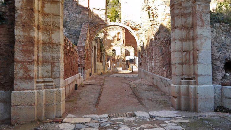 Eingang in die Cartoixa de Santa Maria d'Escaladei