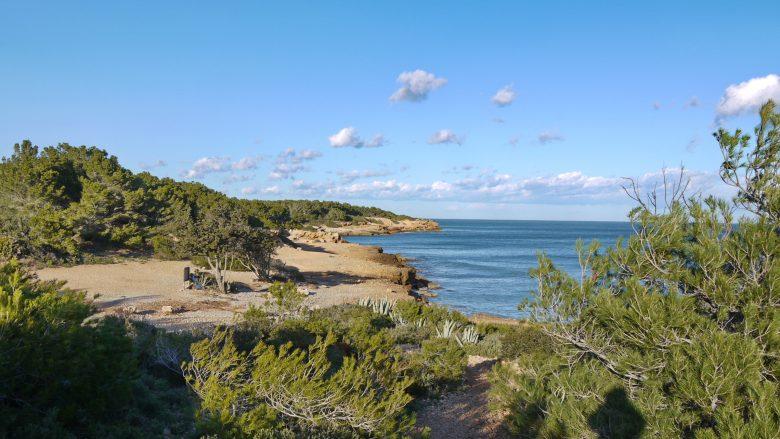 Küstenlandschaft bei l'Ametlla de Mar
