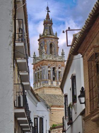 Kirchturm in Écija