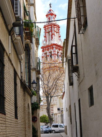 Kirchturm der Kirche Santa María Nuestra Señora in Écija