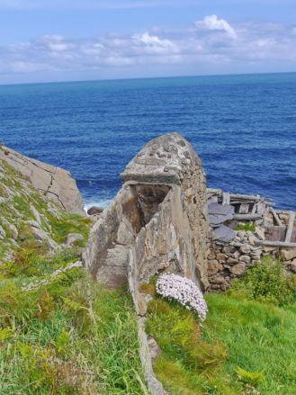Ruine der alten Wassermühlen