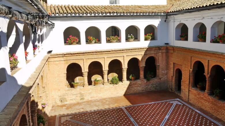 Kreuzgang im Kloster Santa María de la Rábida