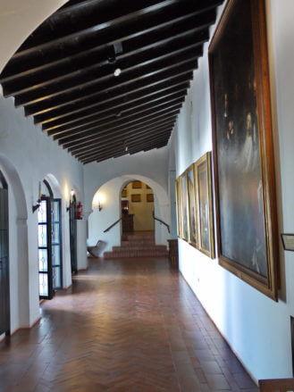 Flur im Kloster Santa María de la Rábida