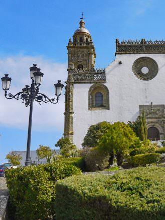 Die Kirche Santa María La Coronada in Medina Sidonia