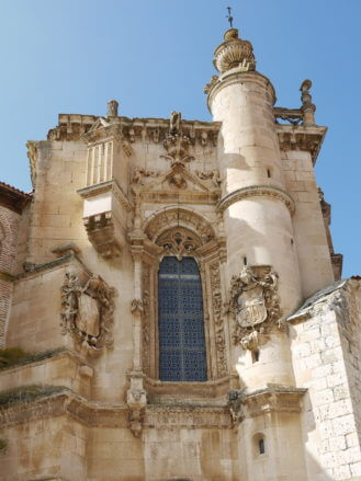 Wappen am Kloster San Pablo