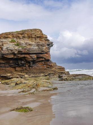 Felsen am Praia das Catedrais