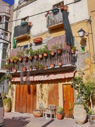 Im Zentrum von Sant Pere Pescador