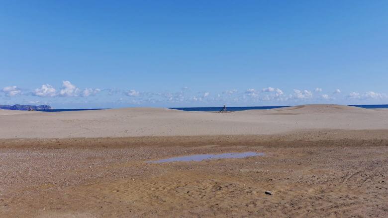 Strand bei Sant Pere Pescador an der Costa Brava
