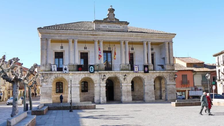 Das Rathaus von Toro