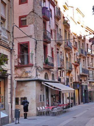 Gasse in der Altstadt von Tortosa