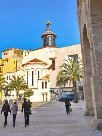 Temple de la Reparació in der Altstadt von Tortosa