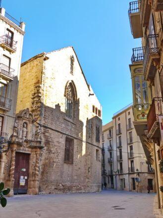 In der Altstadt von Tortosa