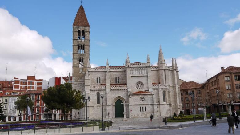 Kirche Santa María 'La Antigua' in Valladolid