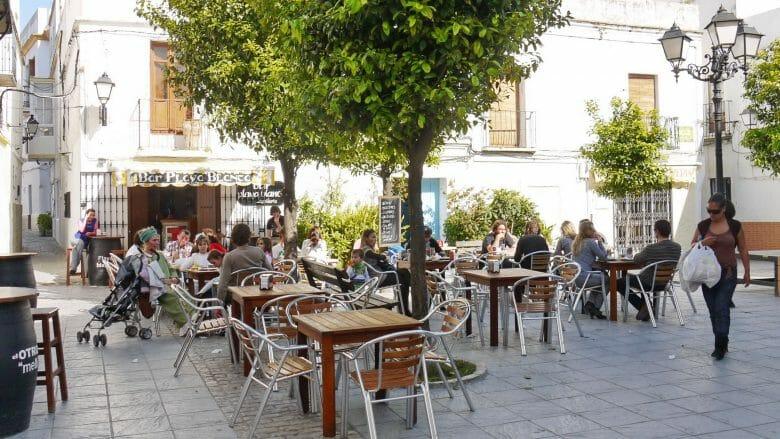 Plaza San Martin in der Altstadt von Tarifa