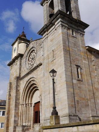 Die Kirche Santa María do Campo de Viveiro