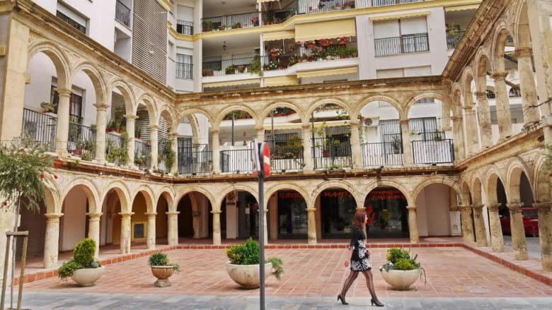 Im Zentrum von Lorca