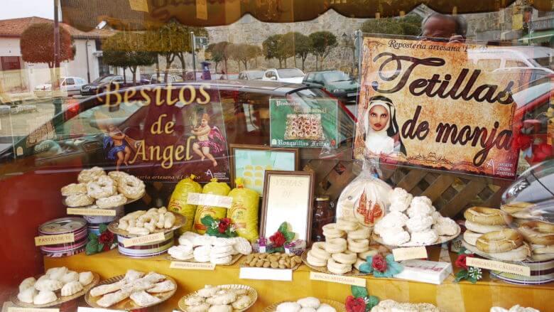 Feines Gebäck wie Telillas de Monja in Ávila (Kastilien-León)