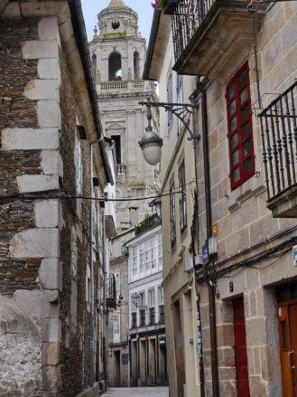 Gasse in Lugo