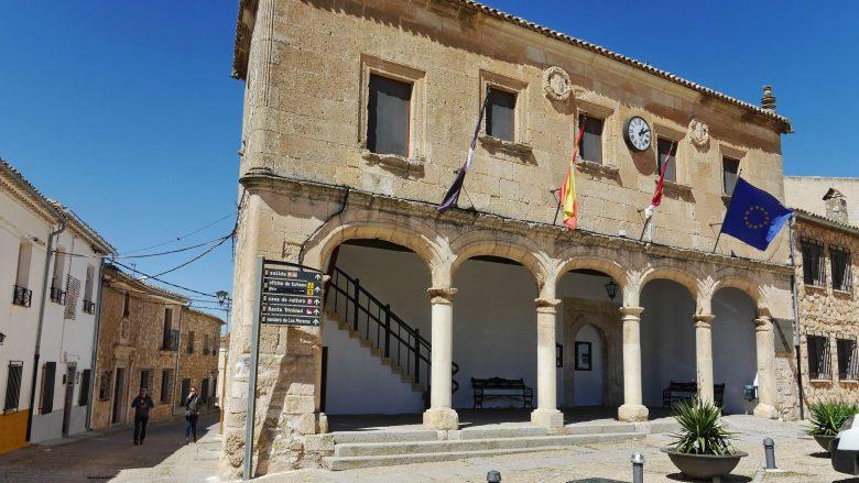 Das Rathaus von Alarcón im Palacio del Concejo