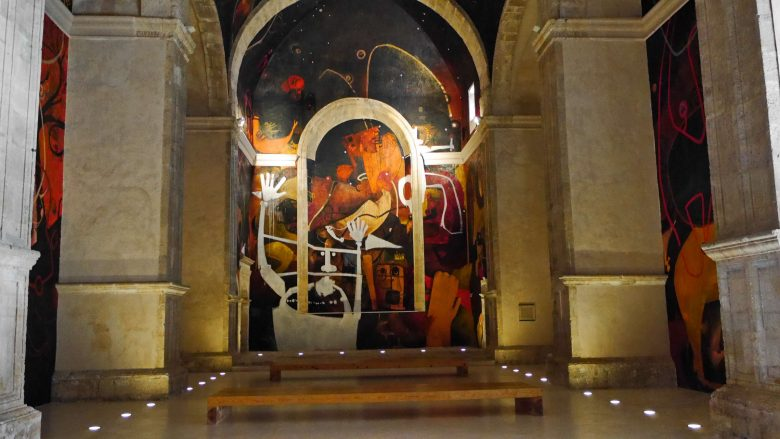 Pinturas Murales de Jesús Mateo in der Kirche San Juan Bautista