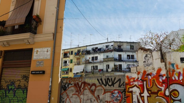 In der Carrer de Baix im Carmen Viertel