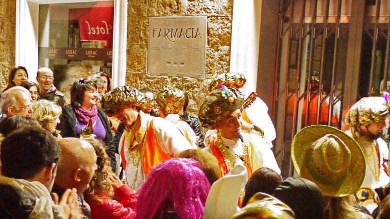 Im Karneval von Cádiz steht der Gesang im Vordergrund