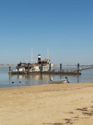 Am Ufer des Guadalquivir bei Sanlúcar de Barrameda