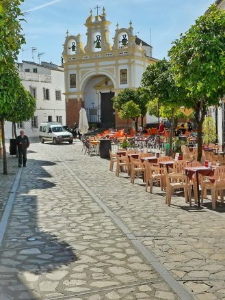 Calle San Juan in Zahara de la Sierra