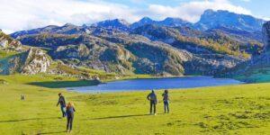 Covadonga und die Bergseen: Landschaften und Wandern in den Picos de Europa