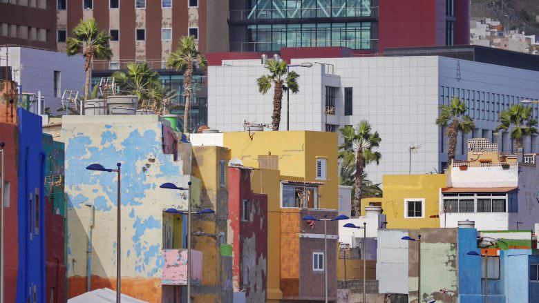 Das Viertel San Cristóbal in Las Palmas de Gran Canaria