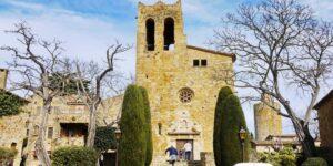 Pals, sehenswerter Ort im Hinterland der Costa Brava (Provinz Girona)