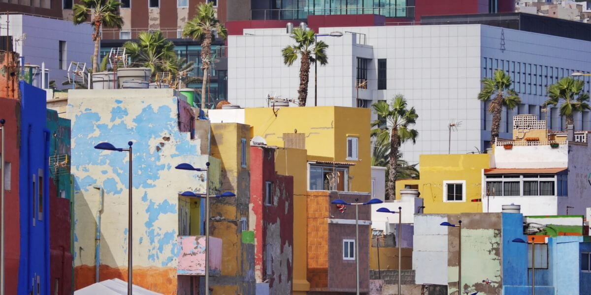Das Fischerviertel San Cristóbal in Las Palmas de Gran Canaria
