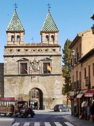 Puerta de Bisagra, einer der Stadttore von Toledo