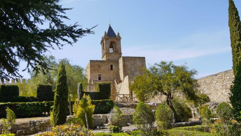 Die Burg in Antequera