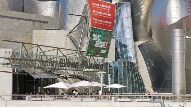 Café des Guggenheimmuseums in Bilbao