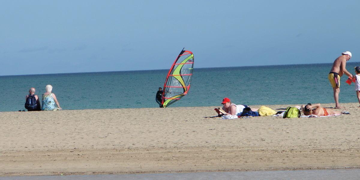 Costa Calma auf Fuerteventura, ein schöner Ort für einen Urlaub am Strand