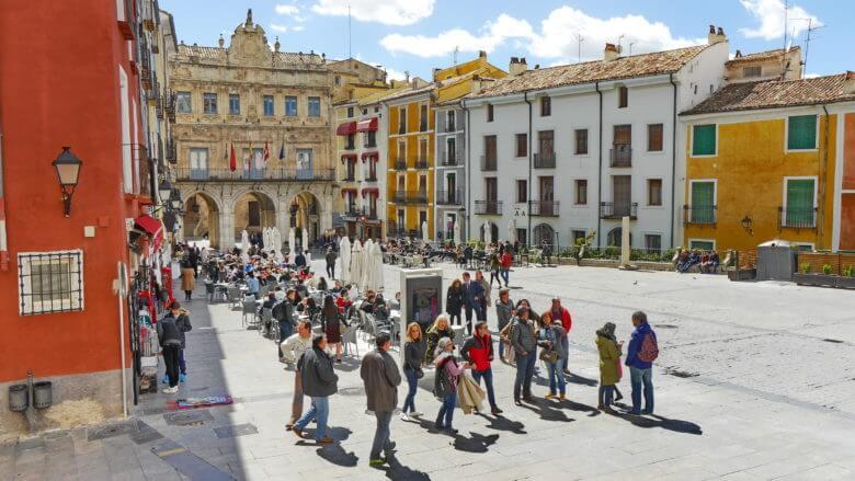 Plaza Mayor und Rathaus