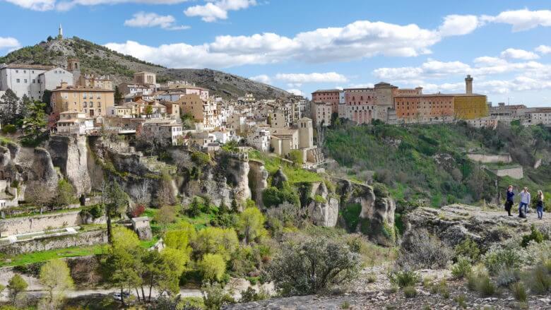 Aussichtspunkt am Wanderweg San Julián El Tranquilo