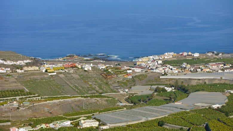 Blick vom Mirador de la Montaña de Arucas auf die Nordküste von Gran Canaria