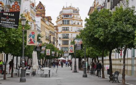 Im Zentrum von Jerez de la Frontera