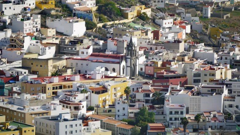 Die Ortschaft Montaña Cordones im Norden von Gran Canaria