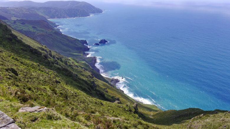 Steilküste bei Vixía Herbeira in den Rías Altas (Galicien)