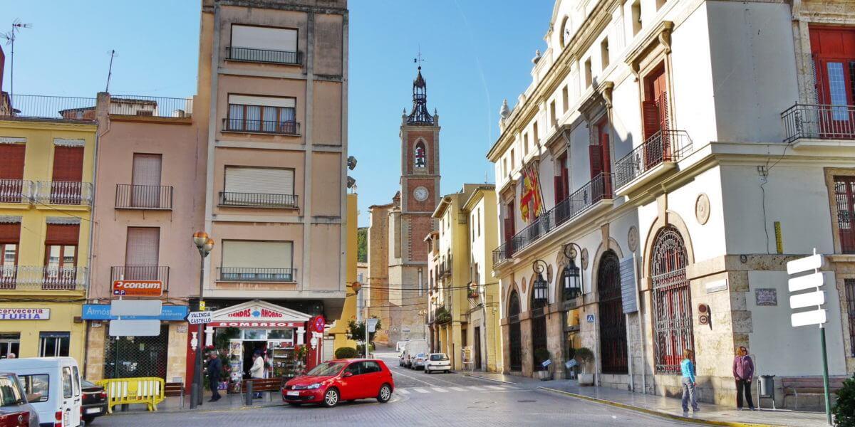 Reiseziel Stadt Sagunt (Sagunto) in Valencia und Bildern